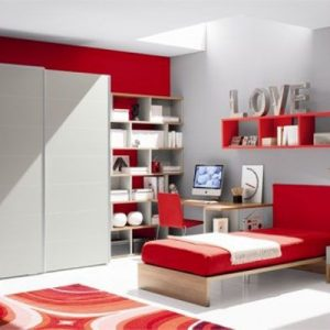 Orange-girls-room-design
