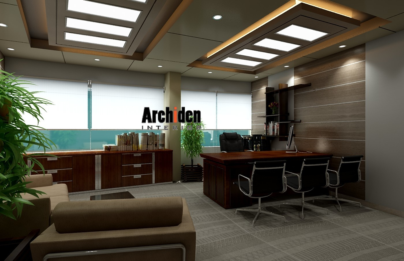 Office interior design in dhaka archiden interior for Design your interior