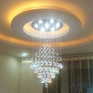FREE-SHIPPING-EMS-Modern-crystal-lamp-living-room-lights-circle-ceiling-light-decoration-lamp-taper-crystal
