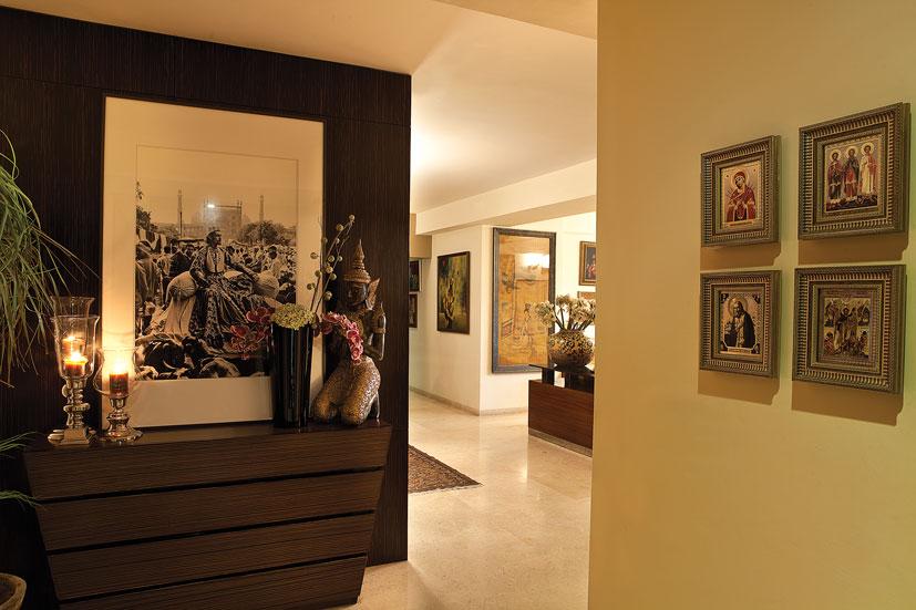 Foyer Area Design : নান্দনিক ফয়ার স্পেস তৈরির কিছু কৌশল interior design in