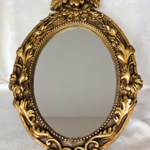 Oval-Gold-Mirror